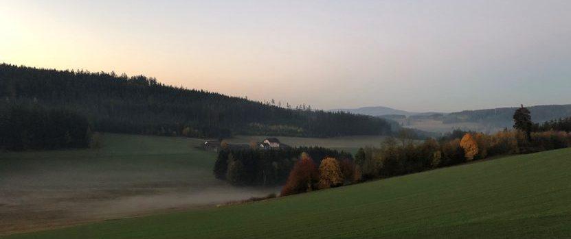 Felder nahe Naturfriedhof Issigau bei Hof