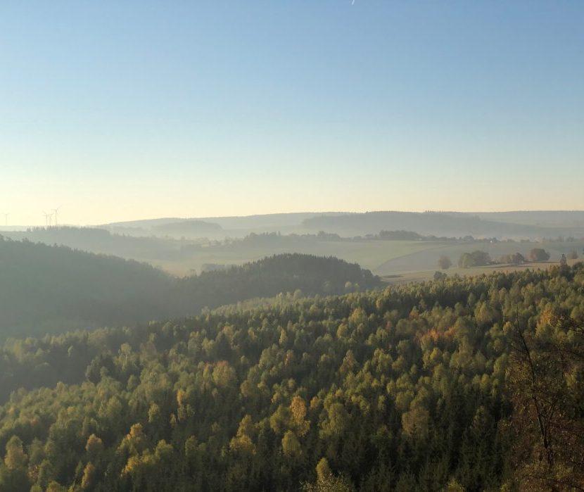 Wald- und Naturfriedhof Frankenwald Standort Issigau